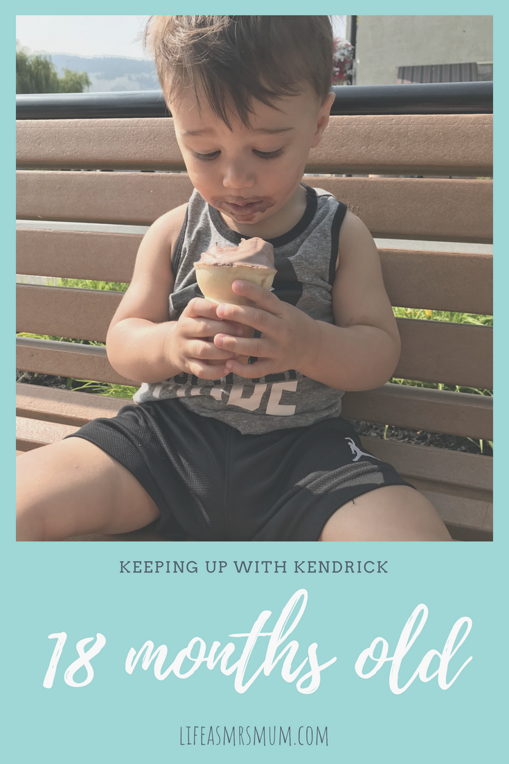 Keeping up with Kendrick: 18 Months Old - Life as Mrs Mum